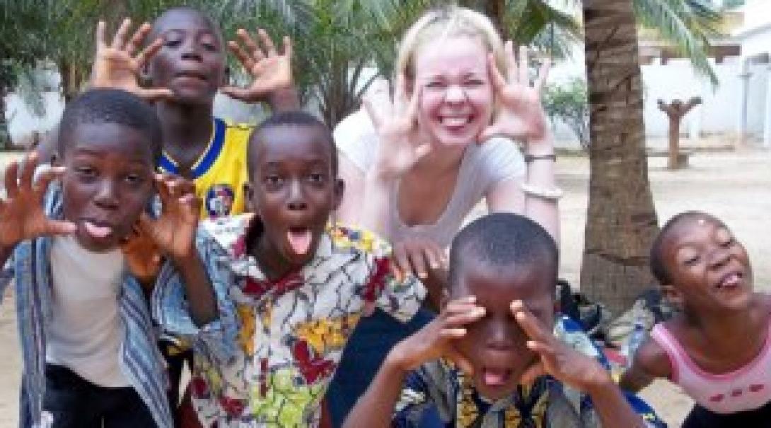 Katherine M in Togo